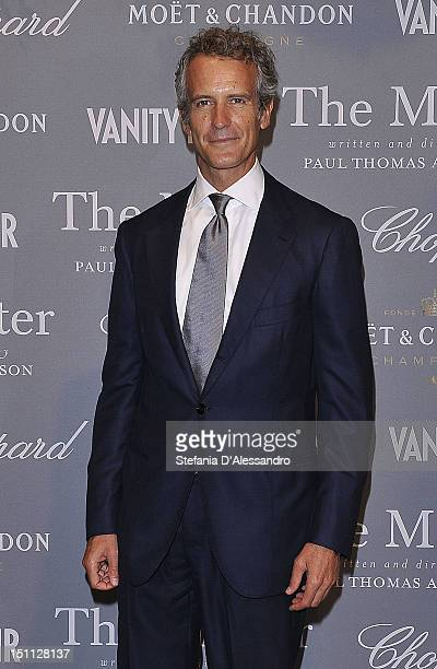 Alessandro Benetton attends Vanity Fair Party at Palazzina G during the 69th Venice Film Festival at on September 1 2012 in Venice Italy