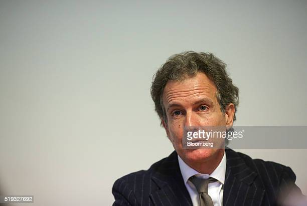 Alessandro Benetton chief executive officer of 21 Investimenti SpA speaks during an interview at his offices in Treviso Italy on Tuesday March 8 2016...