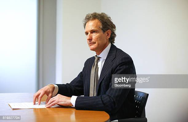 Alessandro Benetton chief executive officer of 21 Investimenti SpA pauses during an interview at his offices in Treviso Italy on Tuesday March 8 2016...