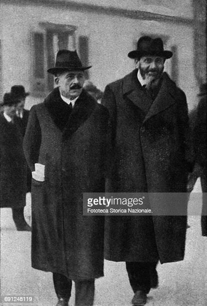 Alessandro Bocconi and Filippo Turati at the Italian Socialist Party Congress in Leghorn during which there was the split of the Italian Communist...