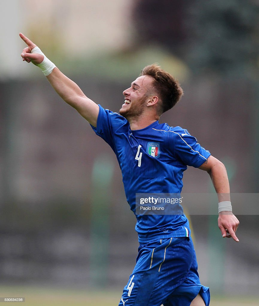 Italy U18 v Romania U18 - International Friendly : News Photo