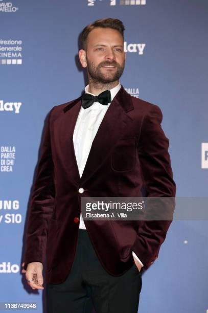 Alessandro Borghi attends 64 David Di Donatello Red Carpet on March 27 2019 in Rome Italy