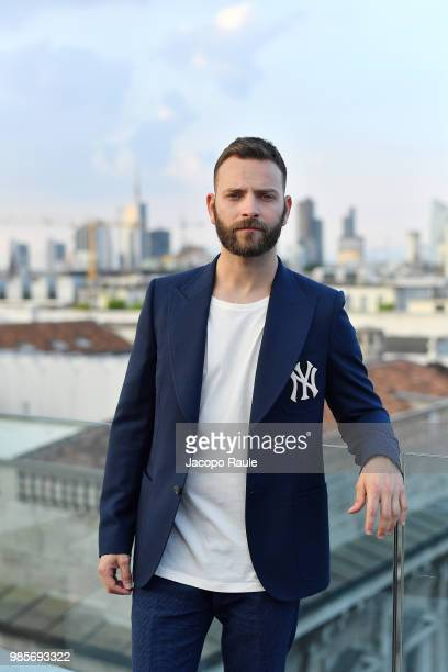 Alessandro Borghi attends OMEGA Tresor Event on June 27 2018 in Milan Italy