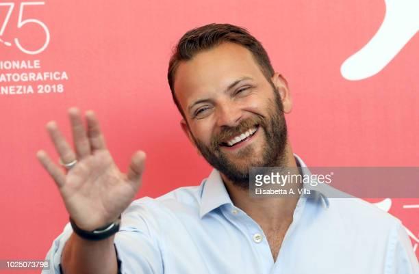 Alessandro Borghi attends 'Sulla Mia Pelle ' photocall during the 75th Venice Film Festival at Sala Casino on August 29, 2018 in Venice, Italy.