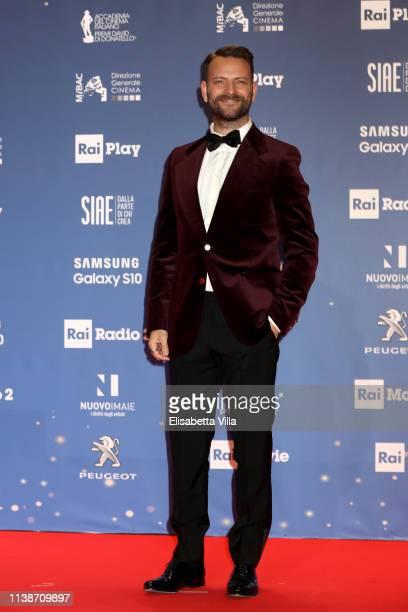 Alessandro Borghi attends the 64 David Di Donatello awards on March 27 2019 in Rome Italy