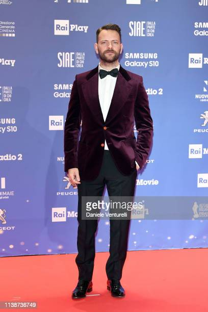 Alessandro Borghi attends the 64 David Di Donatello awards on March 27 2019 in Rome Italy