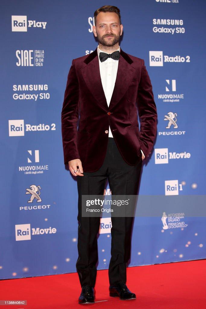 64. David Di Donatello - Red Carpet : Fotografia de notícias
