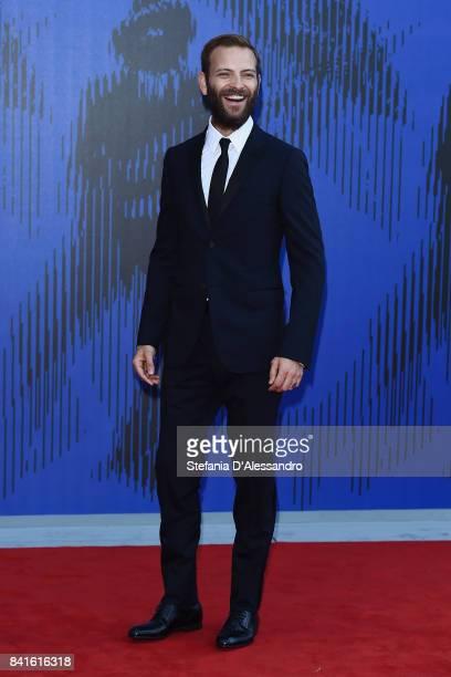 Alessandro Borghi attends the Franca Sozzanzi Award during the 74th Venice Film Festival on September 1, 2017 in Venice, Italy.