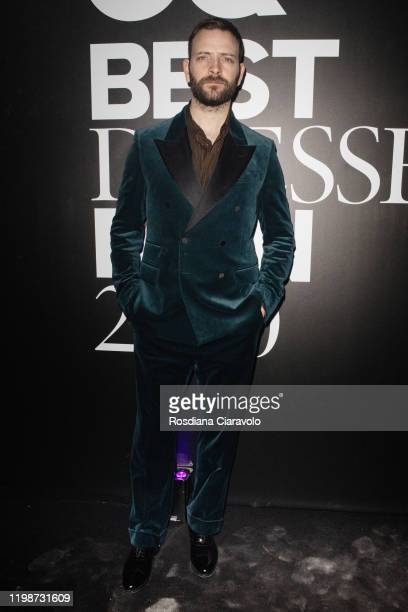 Alessandro Borghi attends the GQ Best Dressed Man 2020 on January 10 2020 in Milan Italy