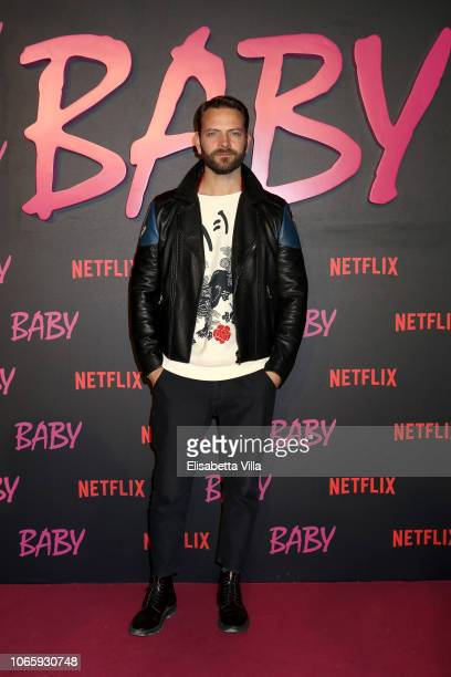 Alessandro Borghi attends the Netflix's Baby World Premiere Afterparty at Villa Sublime on November 27 2018 in Rome Italy