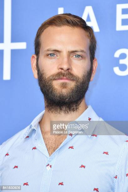 Alessandro Borghi attends the 'Suburra The Series' photocall during the 74th Venice Film Festival at Sala Casino on September 2 2017 in Venice Italy