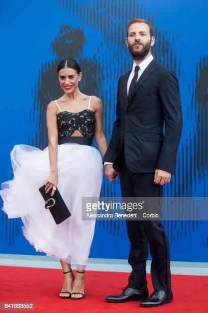 Alessandro Borghi attends the The Franca Sozzani Award during the 74th Venice Film Festival at Sala Giardino on September 1 2017 in Venice Italy