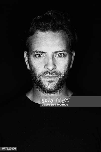 Alessandro Borghi poses on July 15 2016 in Giffoni Valle Piana Italy