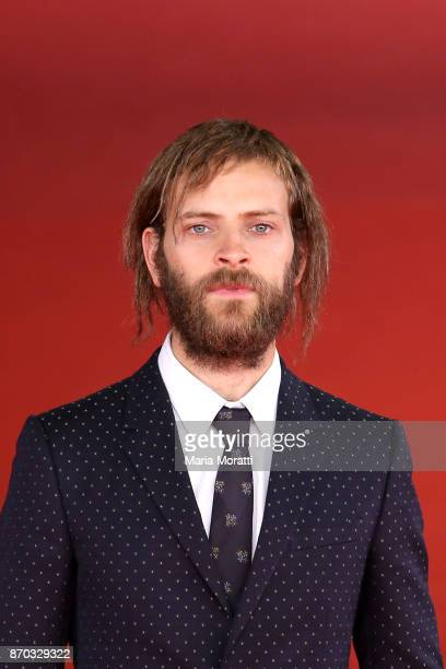 Alessandro Borghi walks a red carpet for 'The Place' during the 12th Rome Film Fest at Auditorium Parco Della Musica on November 4, 2017 in Rome,...
