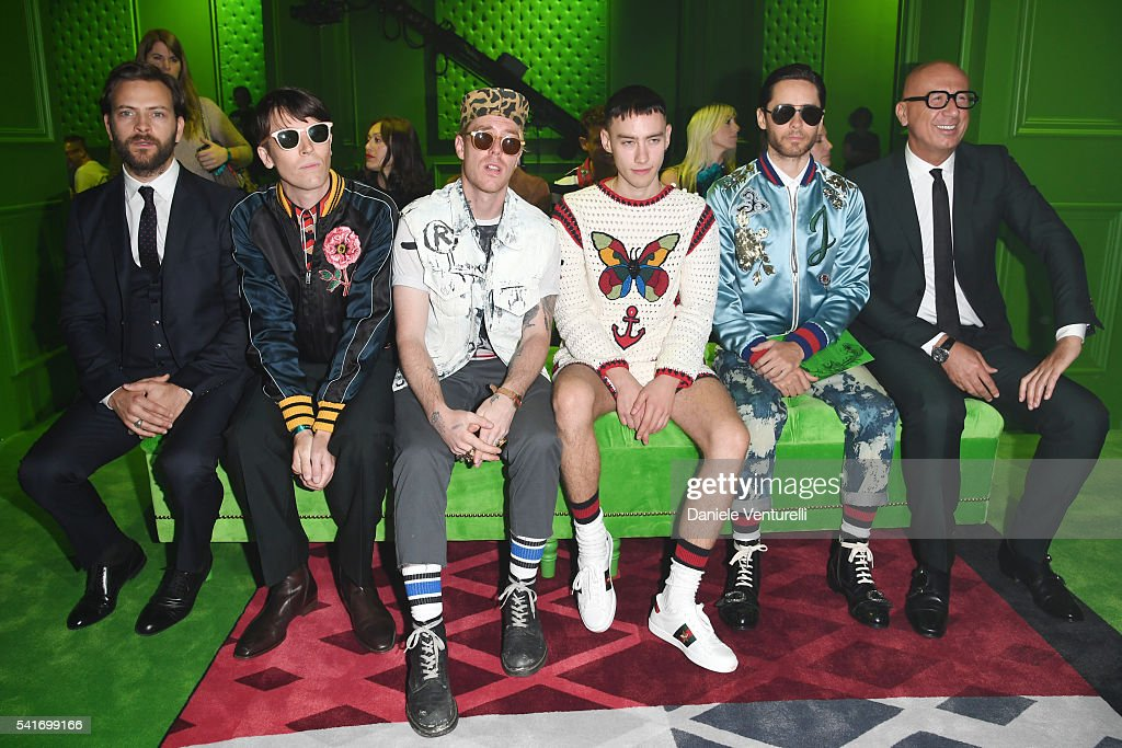 Gucci - Front Row - Milan Men's Fashion Week SS17
