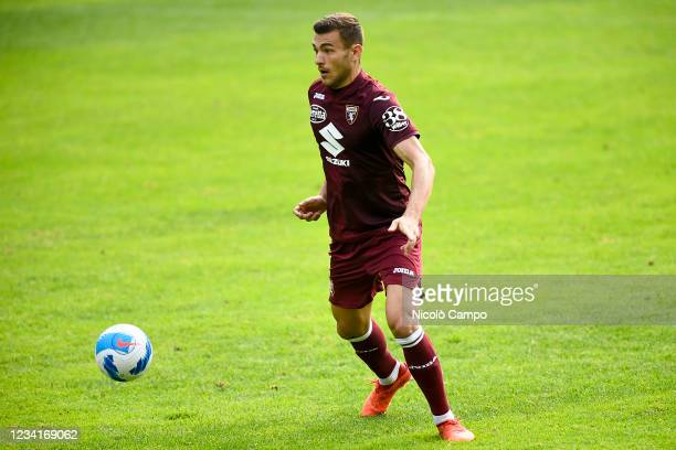 Alessandro Buongiorno of Torino FC in action during the pre-season friendly football match between Torino FC and SSV Brixen. Torino FC won 5-1 over...