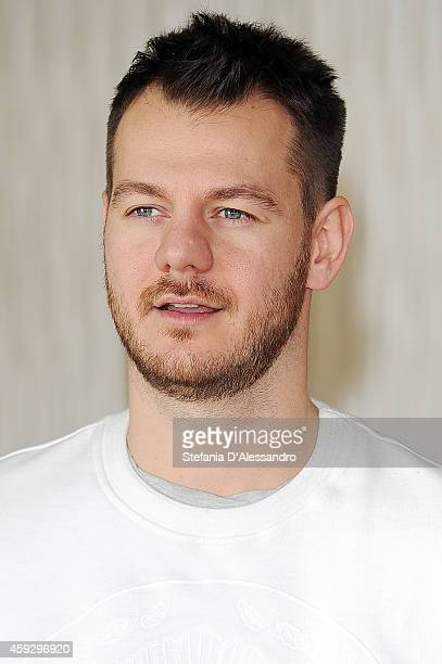 Alessandro Cattelan attends 'Ogni Maledetto Natale' Photocall on November 20 2014 in Milan Italy