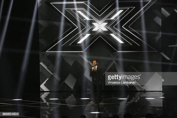 Alessandro Cattelan attends X Factor 11 on October 26 2017 in Milan Italy