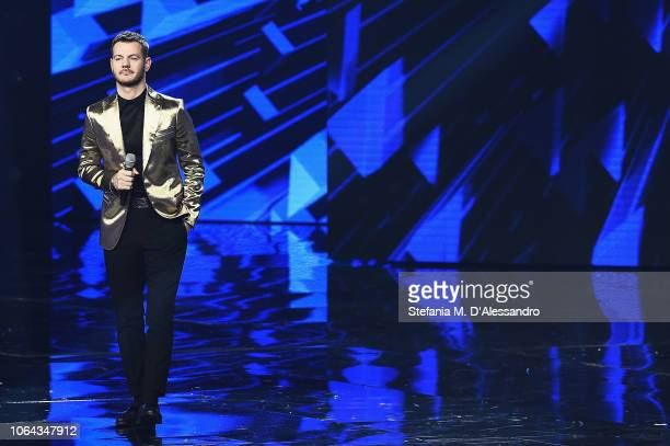 Alessandro Cattelan attends X Factor tv show at Teatro Linear Ciak on November 22 2018 in Milan Italy