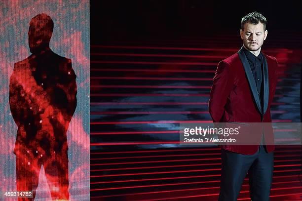 Alessandro Cattelan attends 'X Factor' TV Show on November 20 2014 in Milan Italy