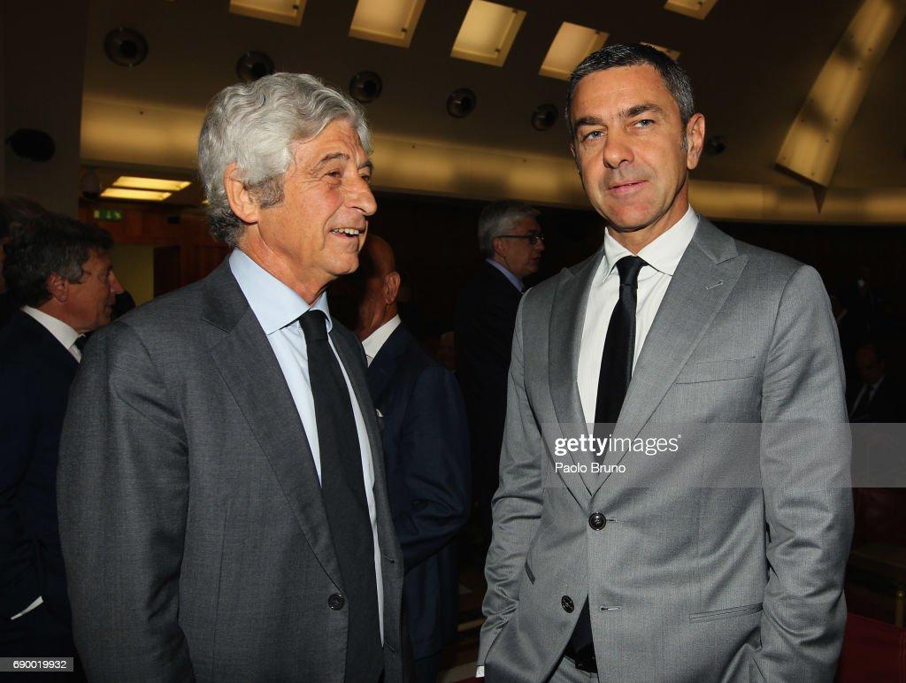 FIGC 'Report Calcio 2017' Press Conference