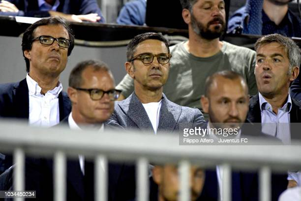 Alessandro Costacurta during the Serie C match between Juventus U23 and Alessandria at on September 16 2018 in Alessandria Italy