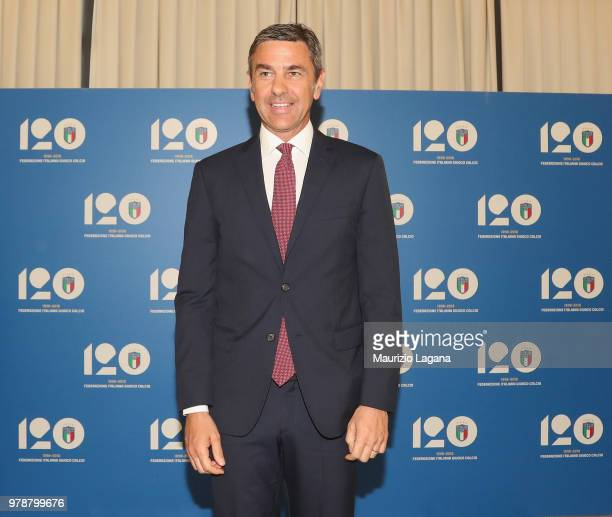 Alessandro Costacurta of Italy during FIGC 120 Years Exhibition on June 19 2018 in Matera Italy