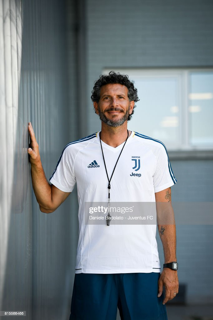 Alessandro Dal Canto of Juventus Primavera during a training session on July 16, 2017 in Vinovo, Italy.