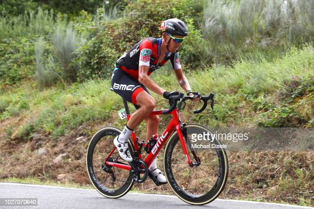 Alessandro De Marchi of Italy and BMC Racing Team / during the 73rd Tour of Spain 2018 Stage 11 a 2078km stage from Mombuey to Ribeira Sacra Luintra...