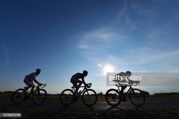 Alessandro De Marchi of Italy and Bmc Racing Team / Stephane Rossetto of France and Team Cofidis, Solutions Credits / Michal Podlaski of Poland and...