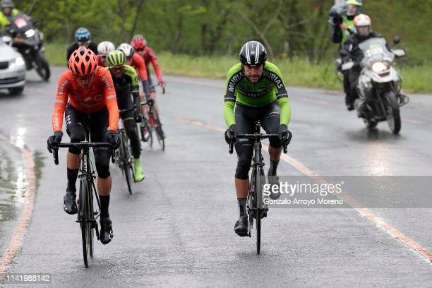 Alessandro De Marchi of Italy and CCC Team / Mikel Iturria of Spain and Team Euskadi Basque Country Murias / Tsgabu Grmay of Ethiopia and Team...
