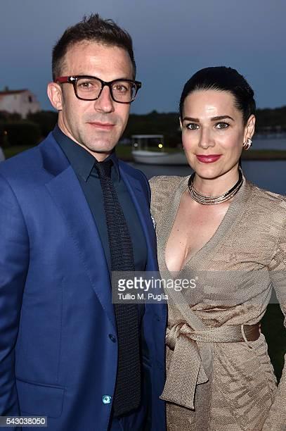 Alessandro Del Piero And Sonia Amoruso Attend The Gala Dinner During The Costa Smeralda Invitational Golf