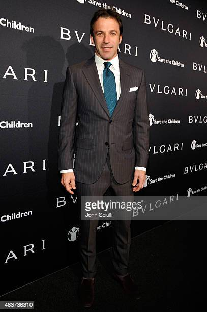 Alessandro Del Piero attends BVLGARI and Save The Children STOP THINK GIVE PreOscar Event at Spago on February 17 2015 in Beverly Hills California