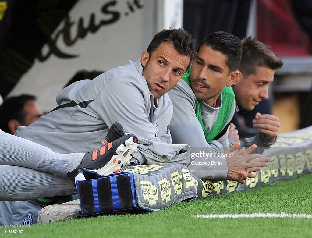 Alessandro Del Piero of Juventus during the Serie A match ...