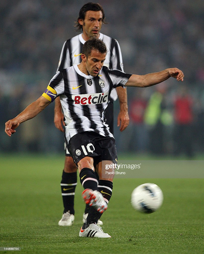 678a7f028 Alessandro Del Piero of Juventus FC kicks the ball during the Tim ...