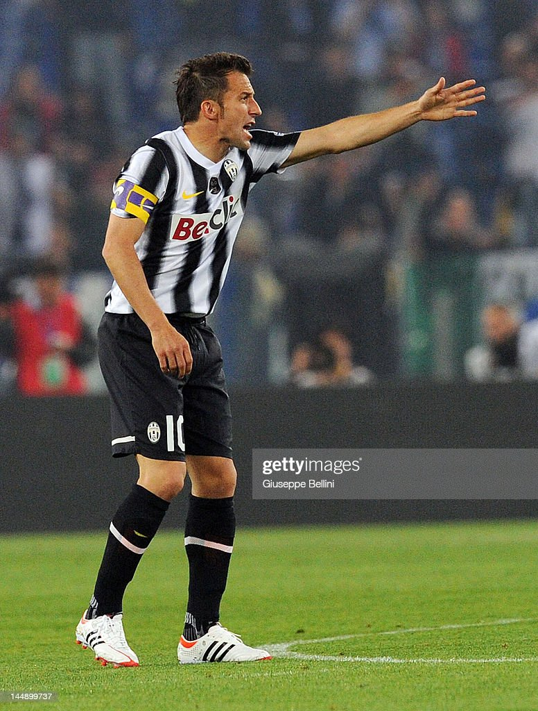 6f4e5f45f Alessandro Del Piero of Juventus in action during the Tim Cup final ...