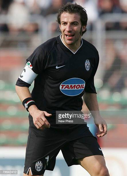 Alessandro Del Piero of Juventus looks on during the Serie B match between Brescia and Juventus at Danilo Martelli Stadium, March 10, 2007 in Mantua,...