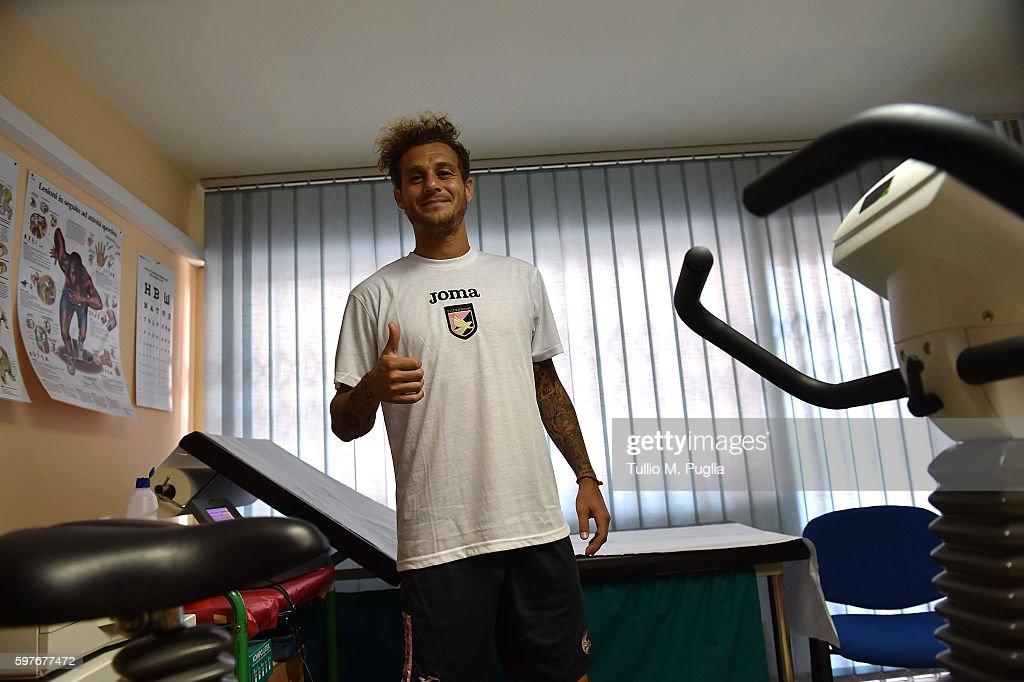 Bruno Henrique And Alessandro Diamanti Medical Tests