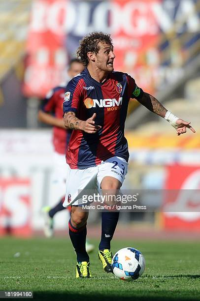 Alessandro Diamanti of Bologna FC in action during the Serie A match between Bologna FC and Torino FC at Stadio Renato Dall'Ara on September 22 2013...