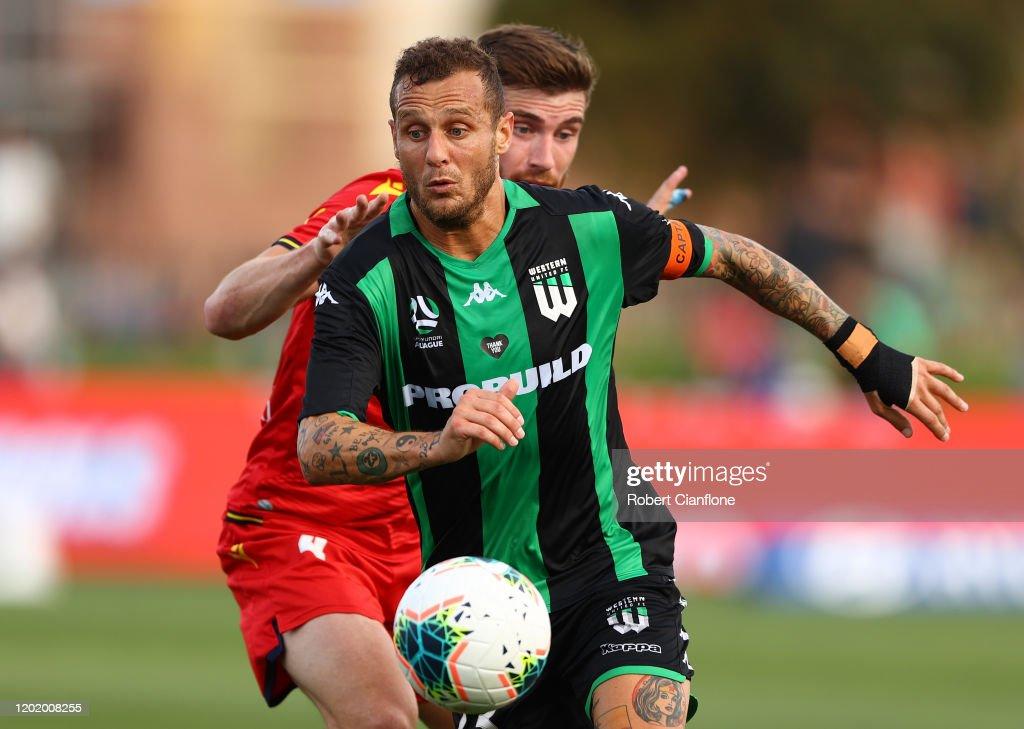 A-League Rd 16 - Western United v Adelaide United : News Photo