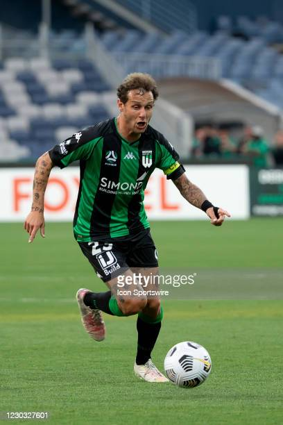 Alessandro Diamanti of Western United controls the ball during the Hyundai A-League soccer match between Western United FC and Adelaide United on...