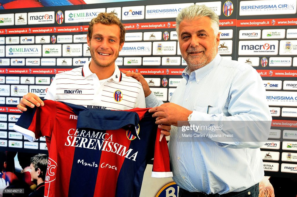 FC Bologna Unveils New Player Alessandro Diamanti