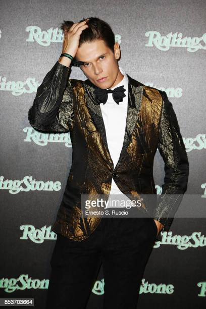 Alessandro Egger attends Rolling Stone Party during Milan Fashion Week Spring/Summer 2018 at on September 24 2017 in Milan Italy