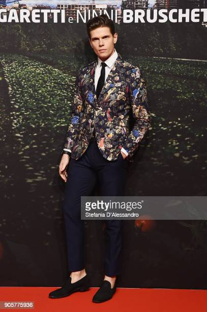 Alessandro Egger attends the 'Il Vegetale' photocall on January 16 2018 in Milan Italy