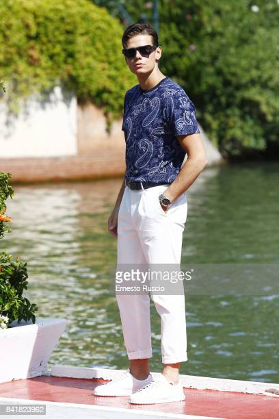 Alessandro Egger is seen during the 74th Venice Film Festival on September 2 2017 in Venice Italy
