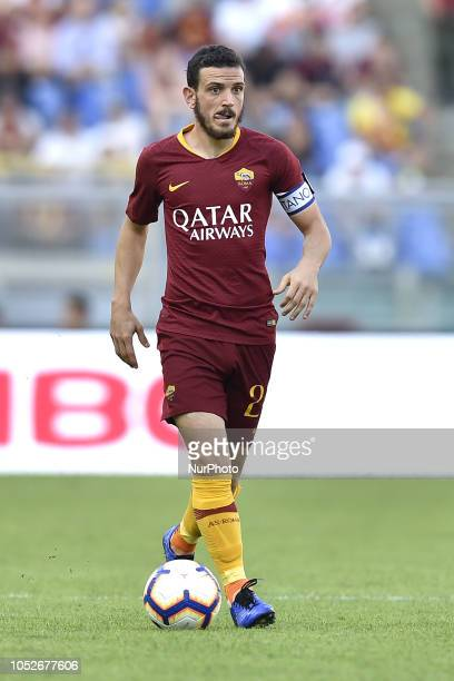 Alessandro Florenzi of AS Roma during the Serie A match between Roma and SPAL at Stadio Olimpico Rome Italy on 20 October 2018