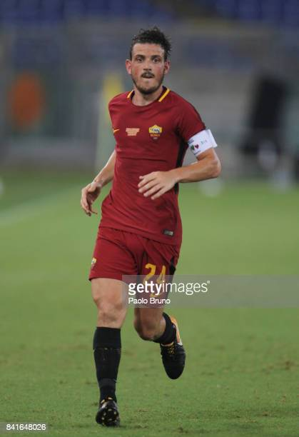 Alessandro Florenzi of AS Roma in action during the friendly match between AS Roma and Chapecoense at Olimpico Stadium on September 1 2017 in Rome...