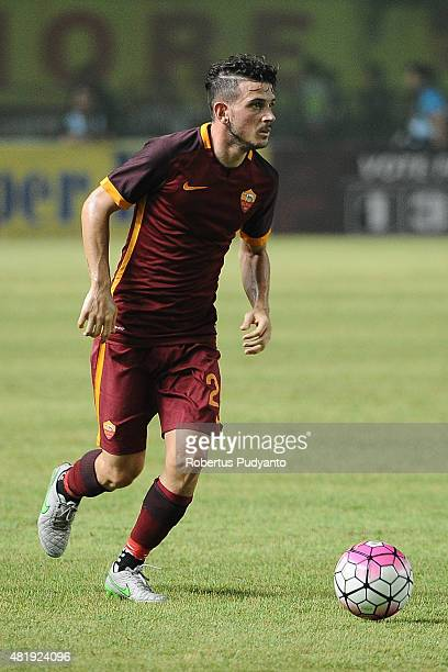 Alessandro Florenzi of AS Roma in action during the international friendly match between AS Roma A and AS Roma B at Gelora Bung Karno Stadium on July...