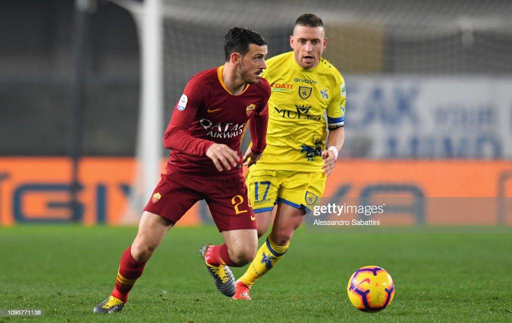 Chievo Verona v AS Roma - Serie A : Fotografía de noticias