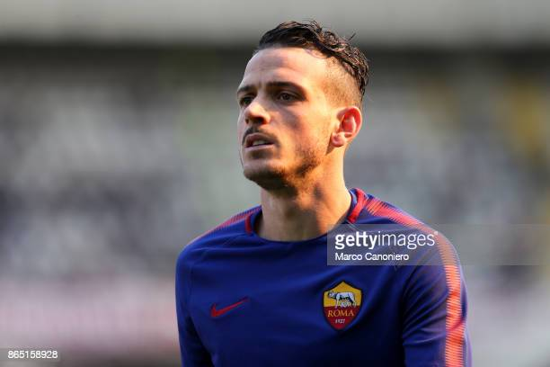 Alessandro Florenzi of As Roma looks on before the Serie A football match between Torino Fc and As Roma As Roma wins 10 over Torino Fc